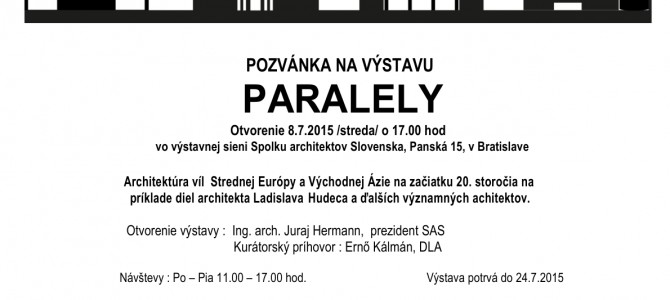 PARALELY – 2015.07.08
