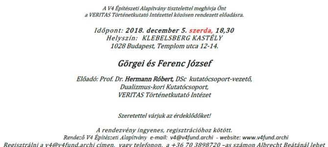 Görgei és Ferenc József