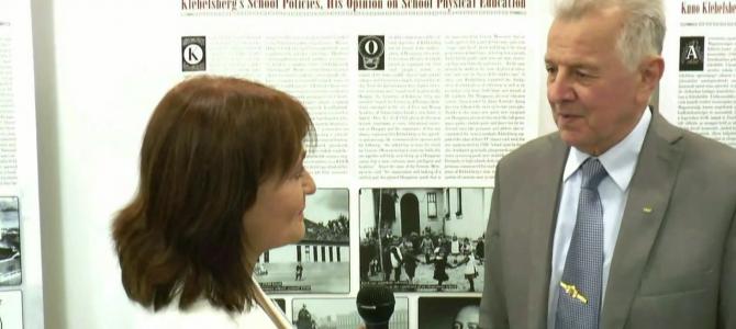 Klebelsberg, a sportminiszter c. sporttörténeti konferencia – interjú az előadókkal – Schmitt Pál