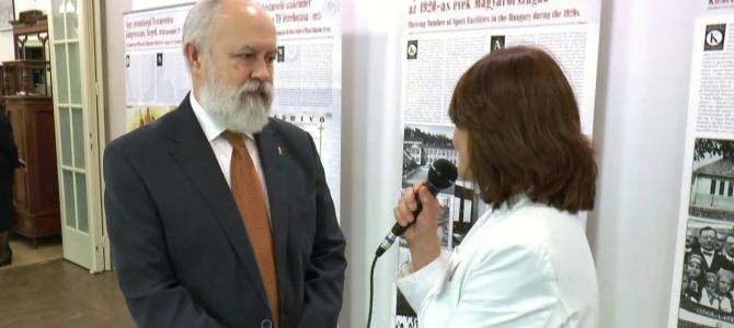 Klebelsberg, a sportminiszter c. konferencia – interjú az előadókkal – Dr. Szabó Lajos