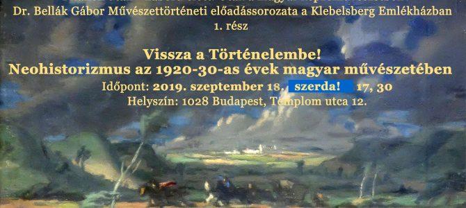 Meghívó – Trianon után – háború előtt