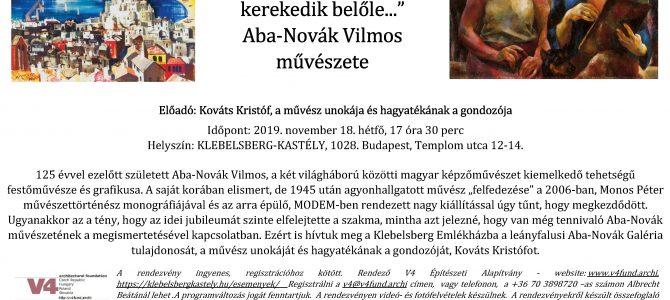 """""""Bármihez nyúlok, novella kerekedik belőle…"""" Aba-Novák Vilmos művészete"""