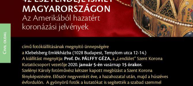 A Klebelsberg Emlékház 2020. január 5-i nagysikerű évnyitó rendezvényről készült videók
