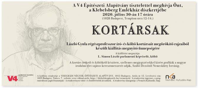 KORTÁRSAK – László Gyula régészprofesszor író- és költő kortársait megörökítő rajzaiból készült kiállítás