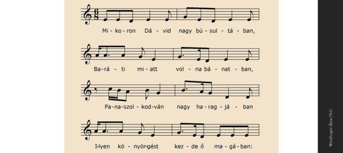 """Mikoron Dávid…"" – 1923 zenei öröksége"