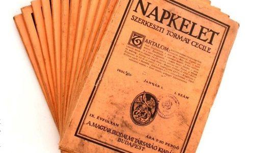 Klebelsberg Kuno irodalmi vállalkozása: a Napkelet folyóirat (1923–1940)